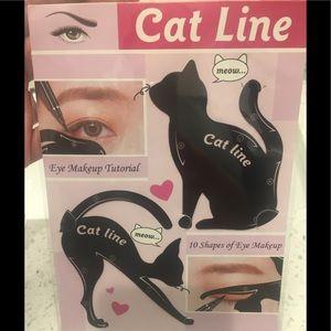 Other - Cat Line Cat Eye Eyeliner Stencils - 10 shapes